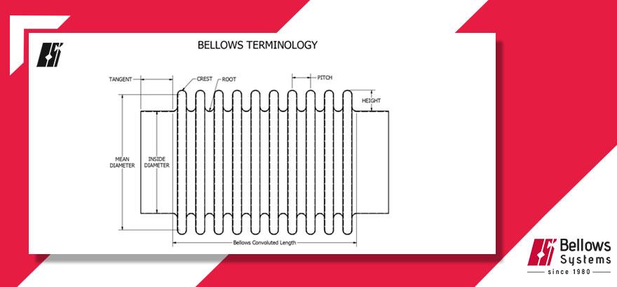 bellows terminology diagram